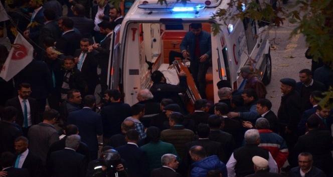 Isparta'dan Alanya'ya oyunu kullanmak için ambulansla geldi