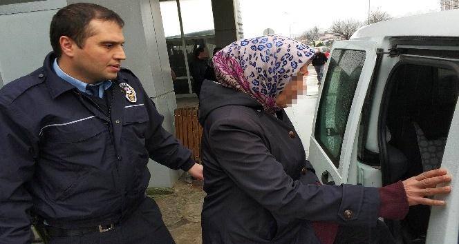 Marketen hırsızlık yapan Iraklı kadın gözaltına alındı