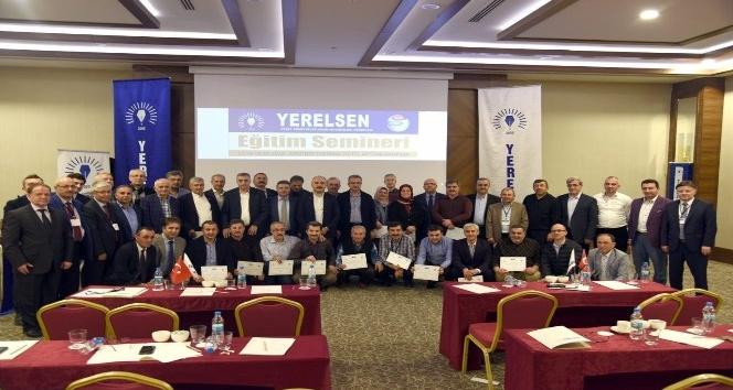 Başkan Toçoğlu, YERELSEN'in eğitim programına katıldı