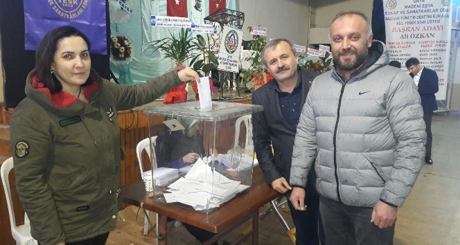 Ali Özcan 6. kez başkan seçildi