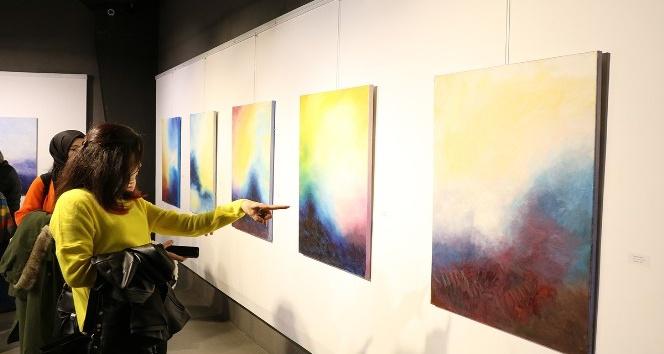'Mistik İzlenimler' isimli resim sergisi sanatseverler ile buluştu