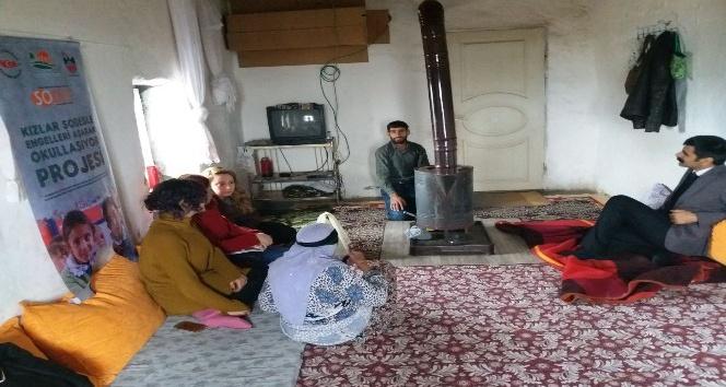 Çınar'da kız çocukları için seferberlik