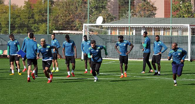 Alanyaspor Kasımpaşa maçı hazırlıklarına başladı