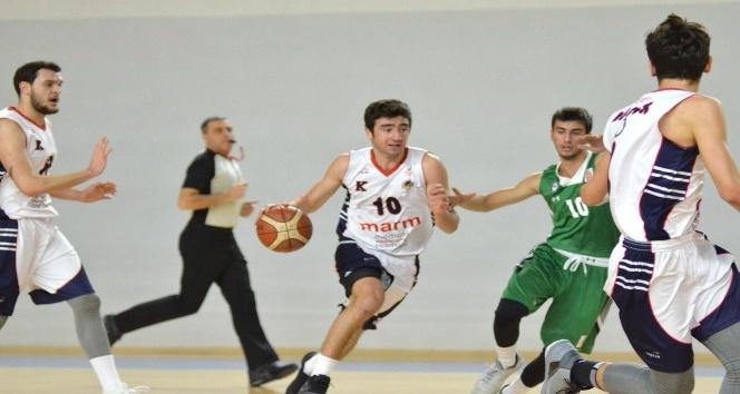 Basketbol Gençler Ligi: TED Ankara Kolejliler: 74 - Darüşşafaka Basketbol: 80