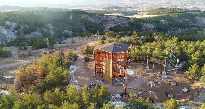 Türkiyenin en büyük macera parkı olacak