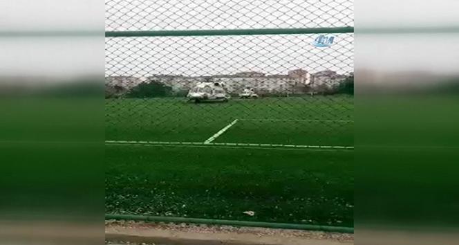 CumhurbaşkanıvErdoğanın helikopteri Zileye iniş yaptı