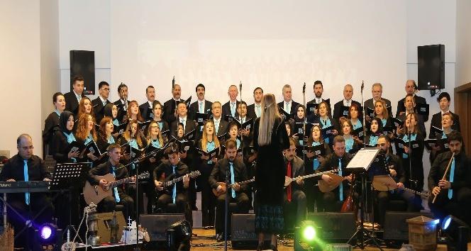 Çayeli Belediyesi Korosu'ndan Türk Halk Müziği Konseri