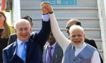 İsrail Başbakanı Netanyahu, Hindistan'da