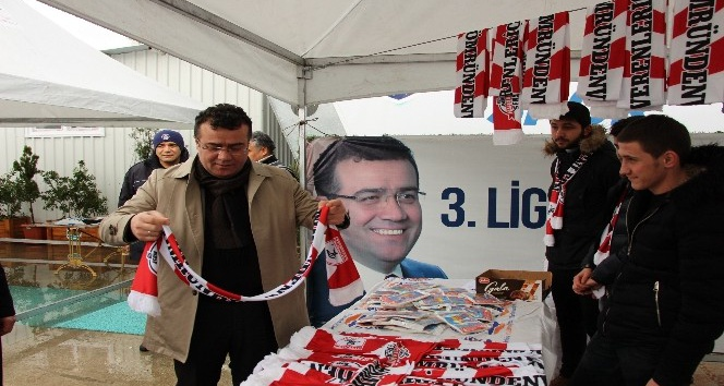 Atakum'dan Samsunspor'a destek