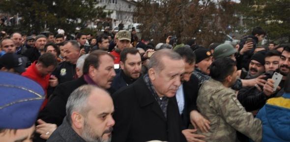 Erdoğan sürprizi! Duyan oraya koştu...
