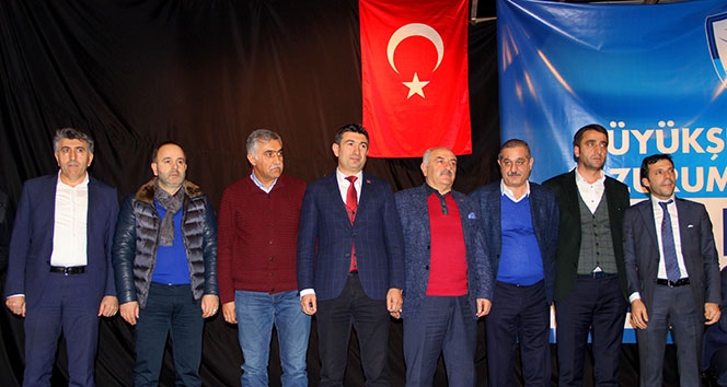BB. Erzurumsporun yeni başkanı Mevlüt Doğan oldu