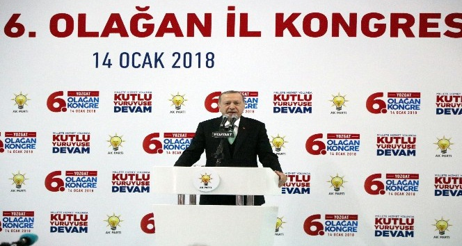 Cumhurbaşkanı Recep Tayyip Erdoğan Yozgat'ta