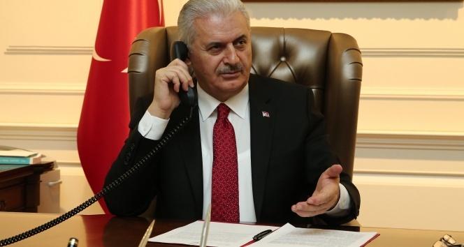 Başbakan Yıldırımdan Kılıçdaroğluna geçmiş olsun telefonu