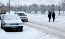 Doğu Anadoluda kar yağışı