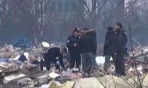 Yıkılan Nakliyeciler Sitesinde ceset bulundu
