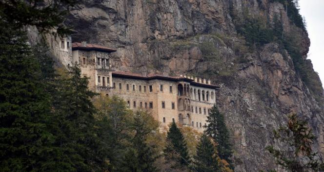 Sümela Manastırını ABD askerleri yağmalamış