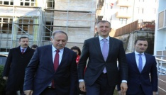 Acara Özerk Cumhuriyeti Hükümet Başkanı Pataradze, Artvinde