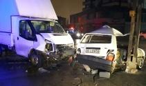 Ankarada trafik kazası: 7 yaralı