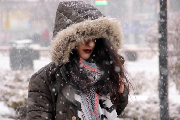Sivas'ta özlenen kar yağışı başladı