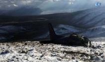 Ispartada CASA tipi askeri uçak düştü: 3 şehit