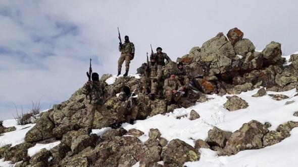 PKK'lıların kullandığı 3 sığınak bulundu