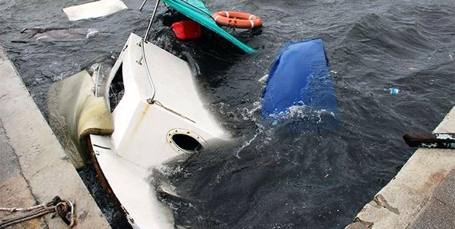 Bodrum'u fırtına vurdu! Balıkçı teknesi battı, ağaçlar devrildi...