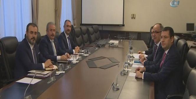İttifak komisyonu ilk kez toplandı
