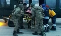 Ağrıda jandarma ekipleri hamile kadını kurtardı