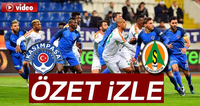 Alanyaspor Beşiktaş özeti Ve Golleri İzle: ÖZET İZLE: Kasımpaşa 3-2 Alanyaspor Maçı Özeti Ve Golleri