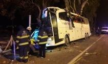 Ankaradan Bursaya giden otobüs kaza yaptı: 13 ölü