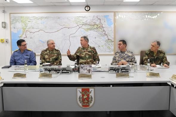Genelkurmay Başkanı Akar 'Zeytin Dalı Harekatı'nı böyle yönetti