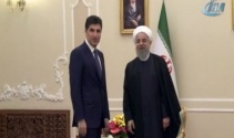 Barzani, Ruhaniyi ziyaret etti
