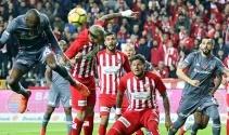 Antalyaspor Beşiktaş Maçından Kareler