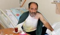 İnşaat işçisi elektrik çarpması sonucu yaralandı