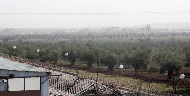Sınır birlikleri terör mevzilerini vuruyor