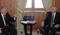 Başbakan Yıldırım, Kılıçdaroğlu görüşmesi başladı