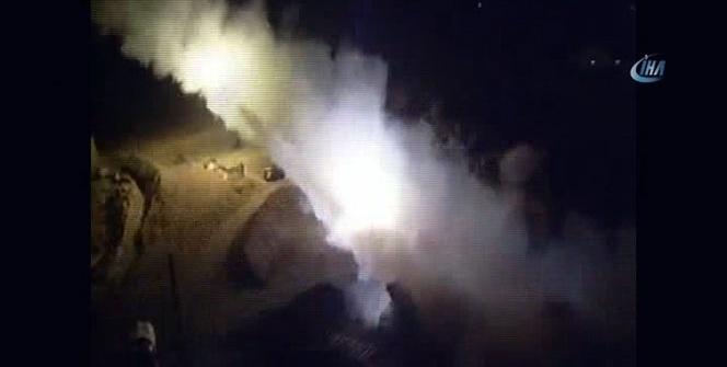 Afrin'de sıcak çatışma... TSK, PYD hedeflerini vurdu!
