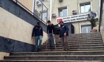 Kağıthanede polis memurunu yaralayan gaspçı tutuklandı