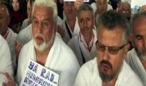 Umre için Kabeye giden Türklerden Mehmetçiğe dua