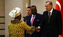 Cumhurbaşkanı Erdoğan, Kongo Büyükelçisini kabul etti