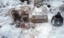 Şırnak'ta mevziye gizlenmiş 4 EYP tespit edilerek, imha edildi