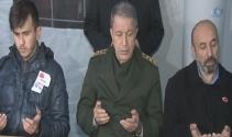 Genelkurmay Başkanı Orgeneral Akardan, şehit evine taziye ziyareti