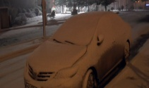 Kocaelinde yoğun kar yağışı başladı