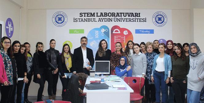 Türkiye'nin ilk STEM Öğretmen Sertifika Programı 12'inci döneminde