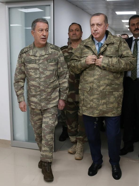 Başkomutan Erdoğan'dan sınırda flaş açıklamalar!