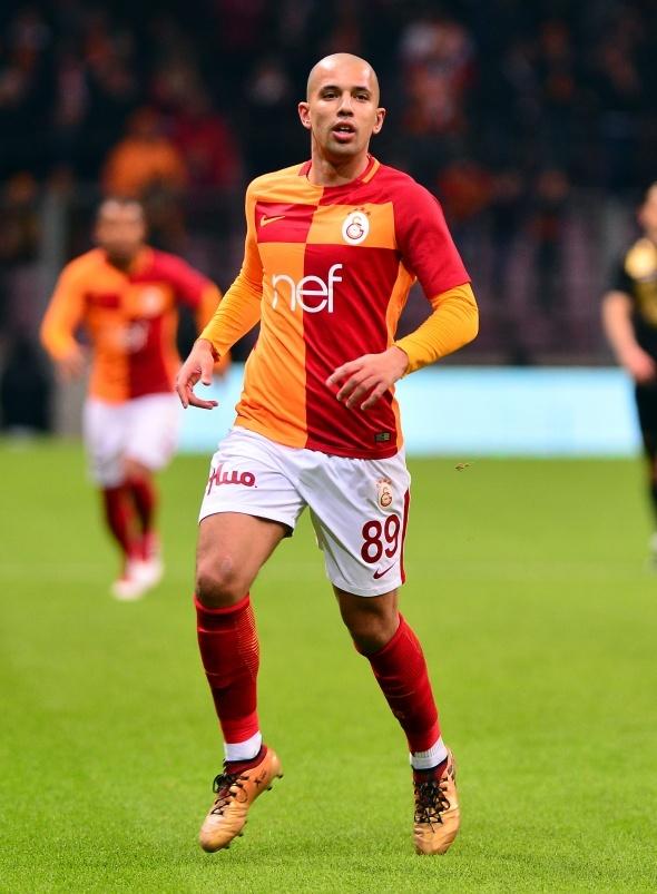 Galatasaray Osmanlıspor Maçından Kareler