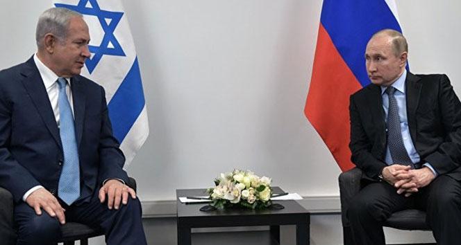 Putin ile Netanyahu Moskovada bir araya geldi