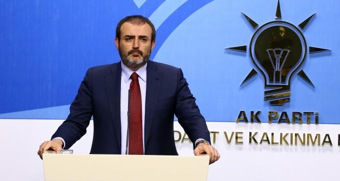 AK Parti Sözcüsü Ünal: CHP, Türkiye karşıtlarının operasyon aparatı
