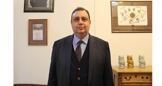 """Prof. Dr. Özgöker """"Eğitimde Kıbrısa farklı bir vizyon kazandırdık"""""""