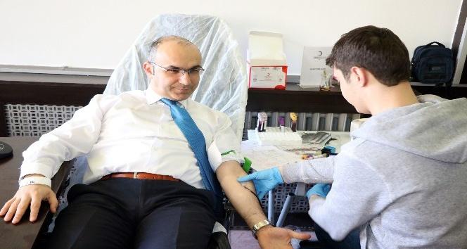 Yozgat Belediyesi Afrin'deki askerler için kan bağışında bulundu